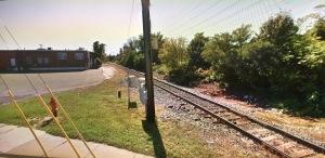 Train tracks near Cherry Hill